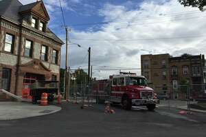 Repairs underway to reinforce Albany firehouse floor - Photo