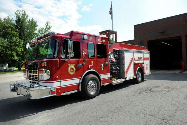 Albany Fire Department's new $391,000 Spartan Metro Star engine on Thursday, July 17, 2014, at Engine 10 in Albany, N.Y. The truck is too heavy for the station it is expected to serve. (Cindy Schultz / Times Union) Photo: Cindy Schultz / 00027834A