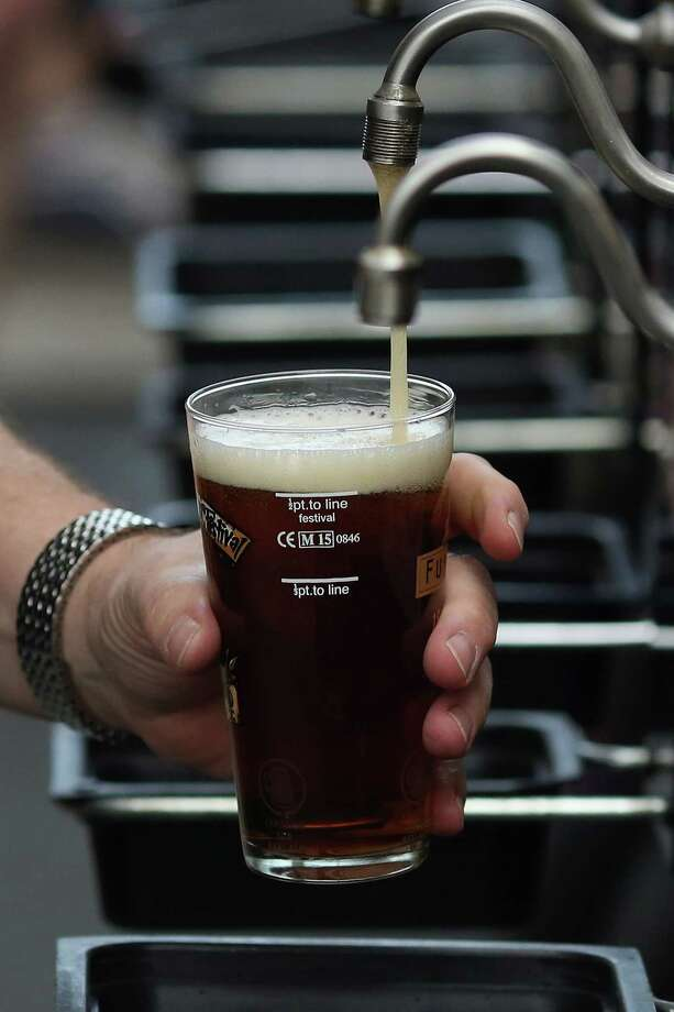 The Second Annual Fireman's Beer Festival Sept. 26 in Bridgewater will offer over 150 different bees, with more than 30 craft beers. Photo: Dan Kitwood / Getty Images / 2015 Getty Images