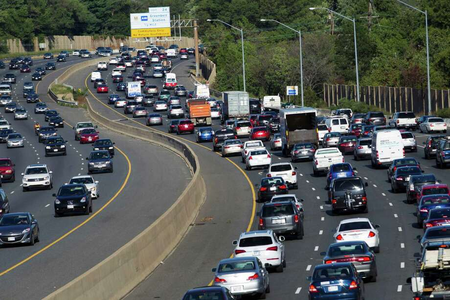 HOLD FOR RELEASE UNTIL 12:01 A.M. EDT. - Traffic crawls along the Capital Beltway during rush hour, in Greenbelt, Md., Tuesday, Aug. 25, 2015. Traffic congestion nationally reached a new peak last year and is greater than ever before, according to a report by the Texas A&M Transportation Institute and INRIX Inc. (AP Photo/Jose Luis Magana) ORG XMIT: NY119 Photo: Jose Luis Magana / FR159526 AP