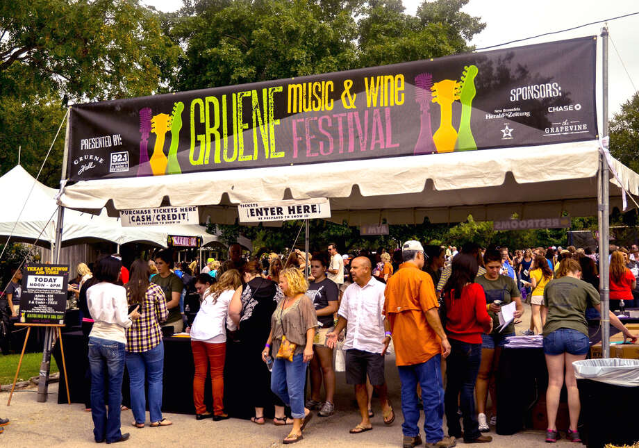 Held Columbus Day Weekend in October. Oct. 6-9, 2016. Visit Gruene Music and Wine Festival for more information.  Photo: Photos Courtesy Of Gruene, Texas.
