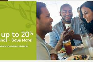 Olive Garden: Take up to 20% off your check through Sunday - Photo
