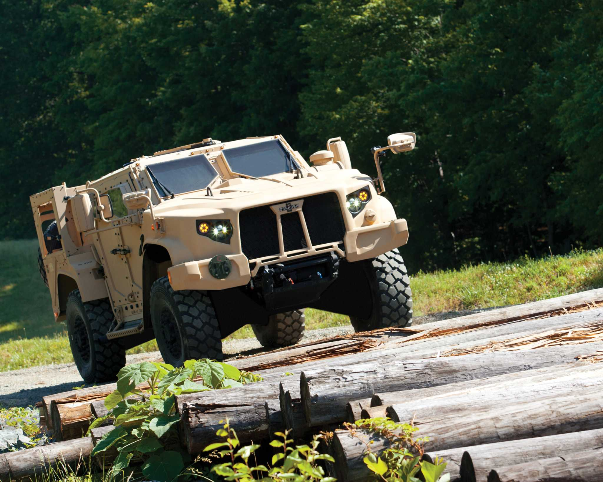 The Pentagon's newest vehicle, L-ATV
