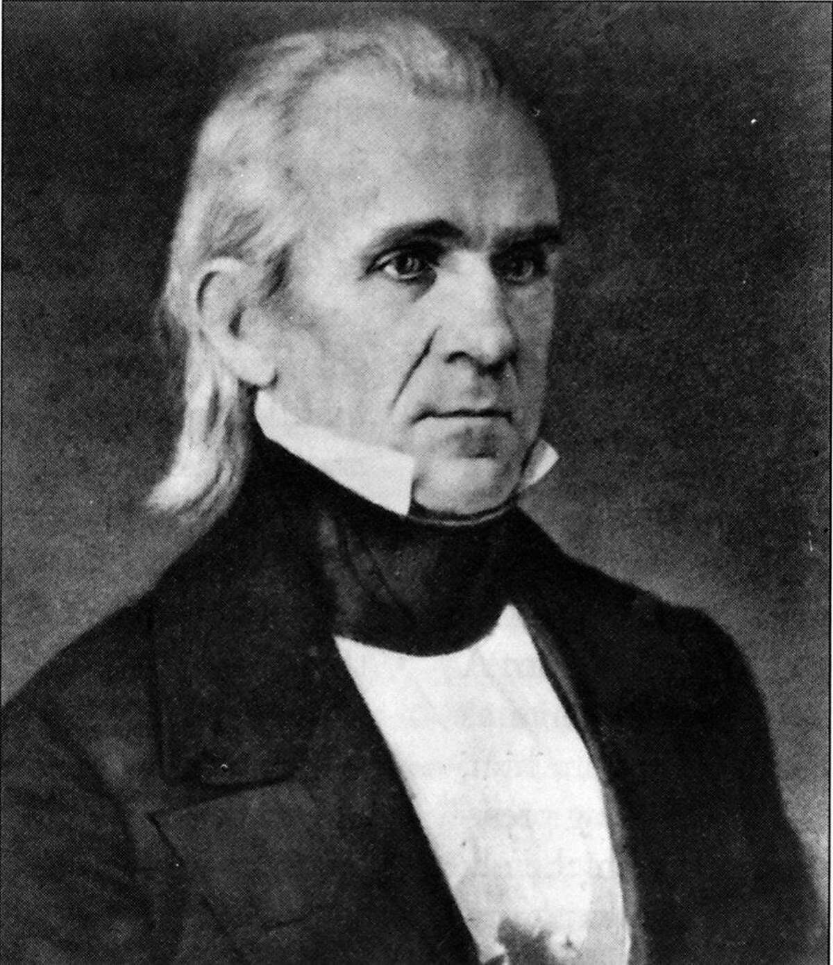 former president james k. polk Ran on: 07-17-2005 Ran on: 03-27-2006