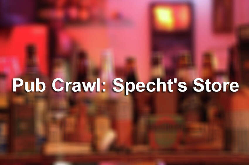 The Hill Country's Specht's Store Pub Crawl, photographed in April 2014.