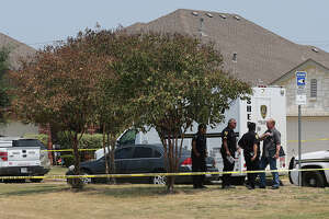 S.A. man appeared to have his hands above his head when shot by deputies - Photo