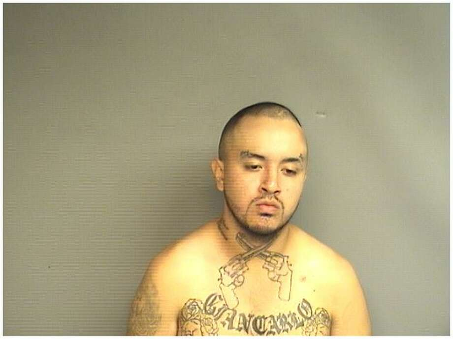Jefferson Maldonado, 26, of Stamford, was charged with stealing a car from a gas station after the owner pulled the vehicle up to a pump and went into the convenience store. Maldonado ditched the car less than a block away, police said. Photo: Stamford Police Department / Contributed Photo / Stamford Advocate Contributed