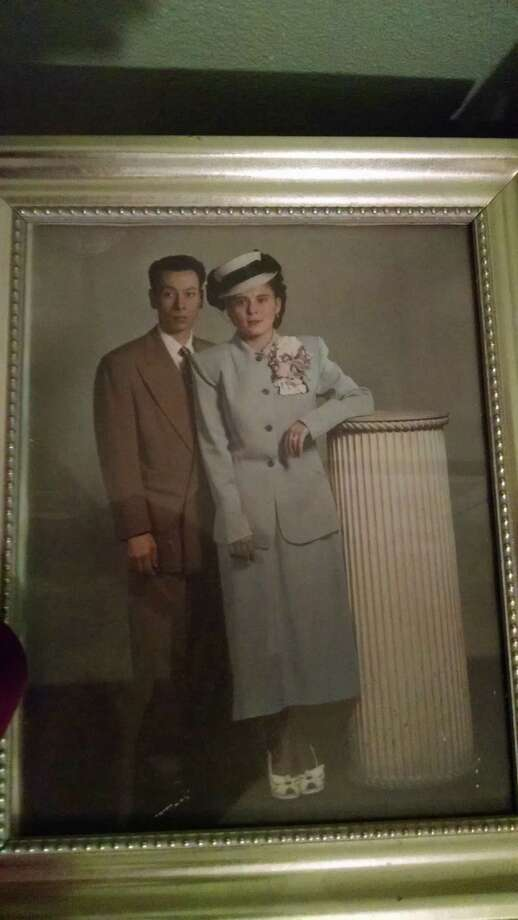 Rodolfo and Maria Pimentel, my parents, circa 1950. The kind of people who apparently scare Donald Trump to death. Photo: /