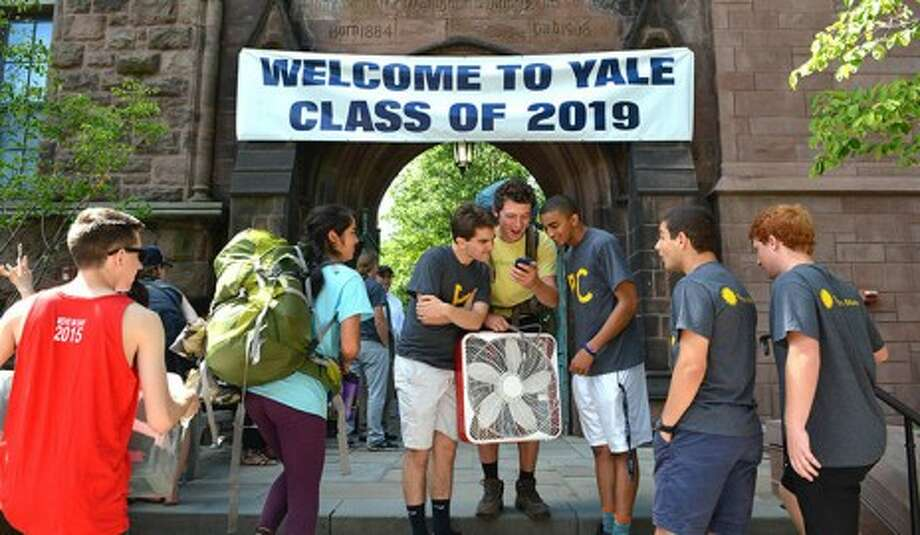 Yale welcomes Class of 2019 Photo: Contributed / Contributed / Connecticut Post