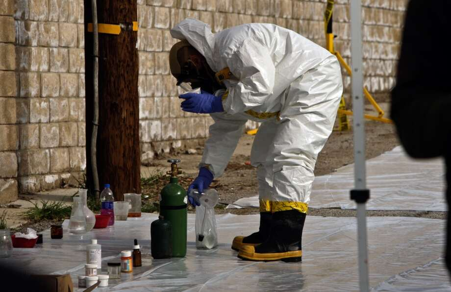 The Drug Enforcement Administration says meth labs seizures in Houston are at an all-time low, while meth seizures have hit an all-time high. >>> Click through the slideshow to see where the DEA found the most drug labs in Texas Photo: Irfan Khan, LA Times Via Getty Images