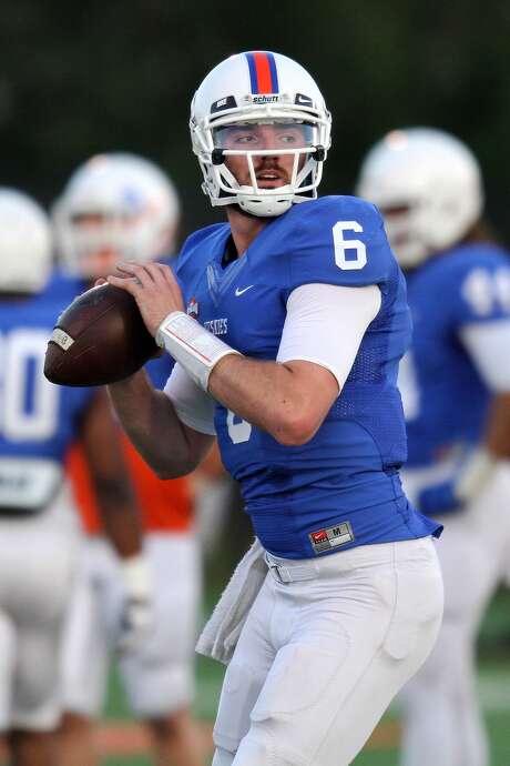 Max Staver will start at quarterback for HBU this season.