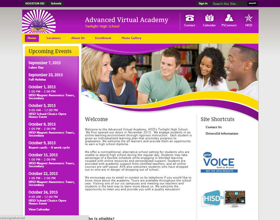 Advanced Virtual AcademyPrincipal: Clarissa Giddings     Years with district: 17     Salary: $86,837.00 Photo: Houston Independent School District