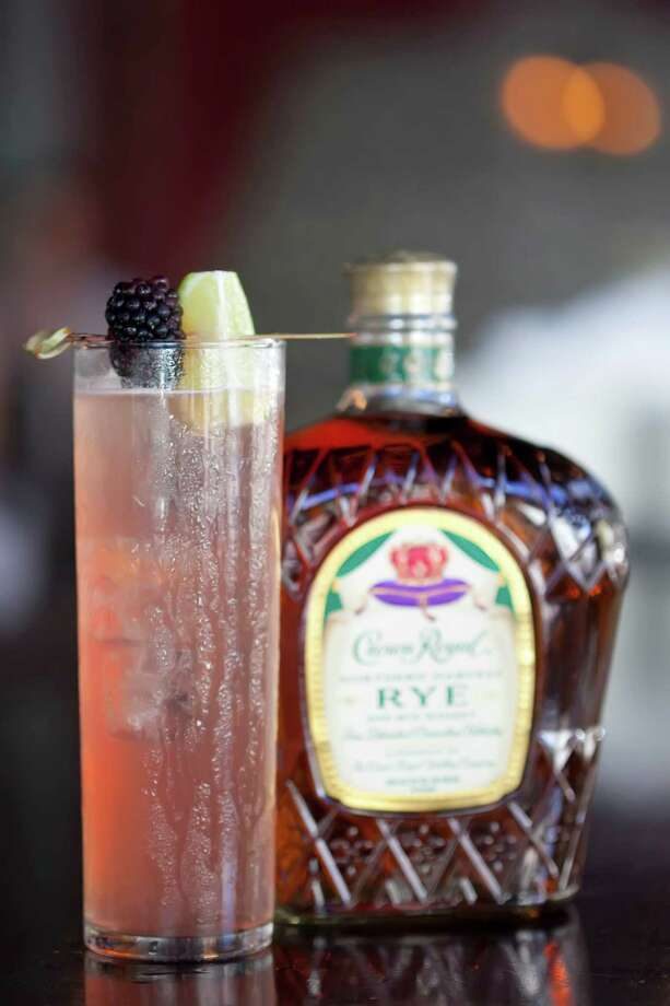 Pamplemousse Punch is a cocktail made with Crown Royal Northern Harvest Rye. Photo: Crown Royal, Owner And Photographer / (C) 2015 STP Images Photography Studio