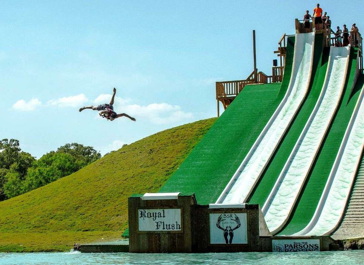 Not every rider who slides down the Royal Flush at BSR Cable Park in Waco enjoys a smooth landing.