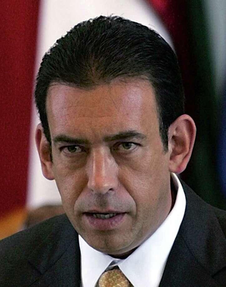 HUMBERTO MOREIRA: Dejó el viernes la Presidencia del Partido Revolucionario Institucional en México. Photo: Harry Cabluck, STF / Associated Press / Associated Press