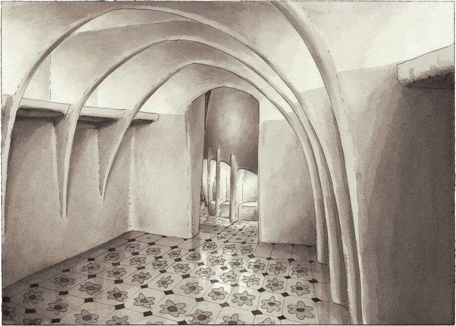 Interior of Gaudi's Casa Batlló, Barcelona  Photo: Paul Madonna