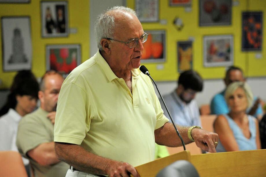 Former school board member Carmine Limone is poised to fill a vacant seat on the board. Photo: Jason Rearick / Hearst Connecticut Media / Stamford Advocate