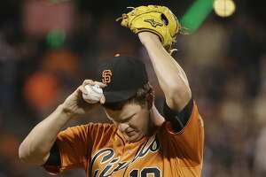 Giants' Matt Cain goes to DL, Chris Heston starts Sunday - Photo