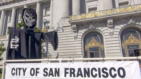 "Is San Francisco a skeleton of its former self? ""San Francisco 2.0"" takes a look. Photo: Courtesy Of HBO"