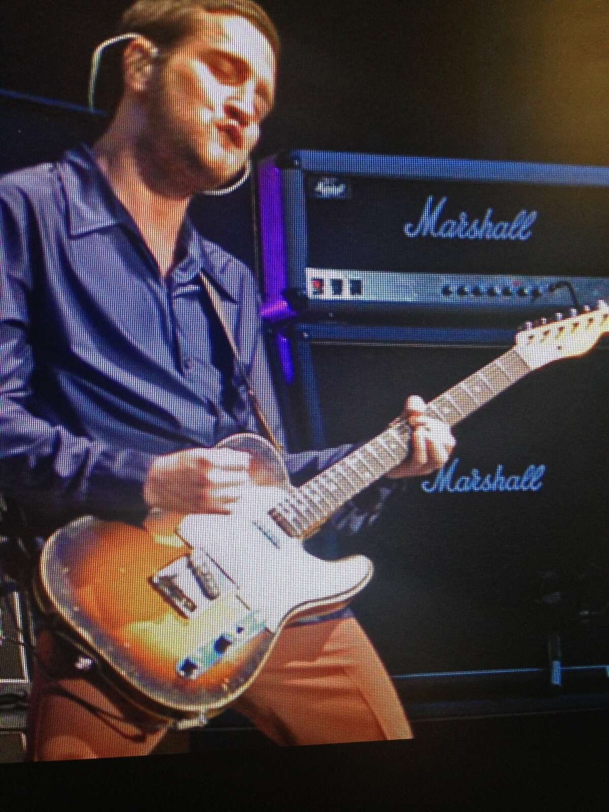 John Frusciante, a former guitarist with the Red Hot Chili Peppers, had his expensive guitar stolen in a burglary of his friend's home in the Bayview District Aug. 16, 2015. Police recovered the guitar and it was returned Aug. 27, 2015.