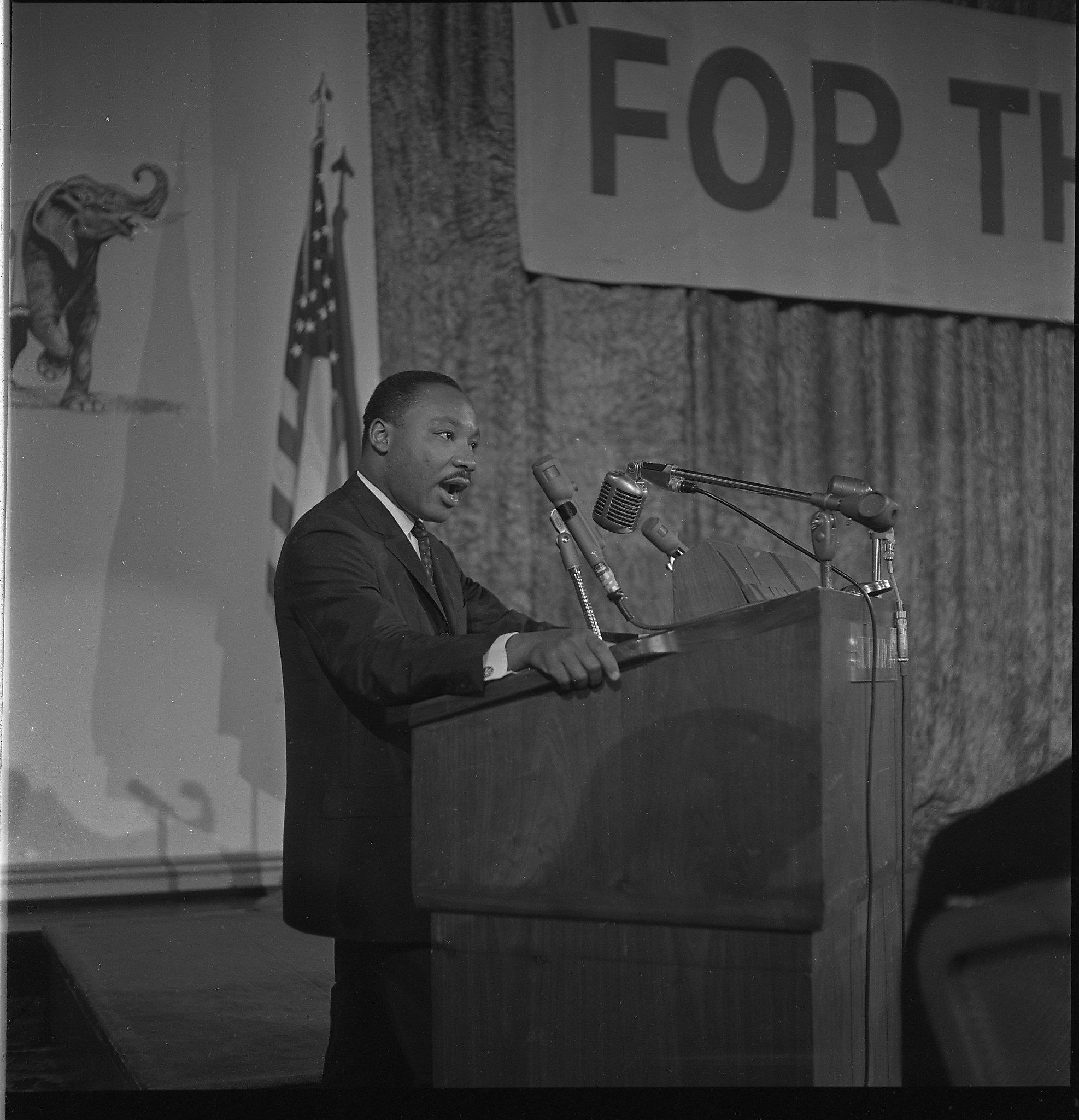 When Martin Luther King Jr Spoke At A Gop Convention In S F