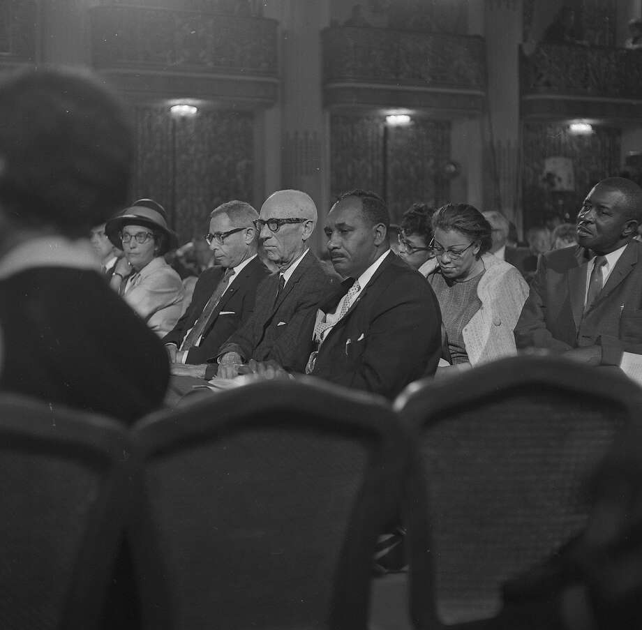 Several civil rights leaders in addition to the Rev. Martin Luther King Jr. addressed the Platform Committee for the Republican National Convention in San Francisco in 1964. Photo:  Photographer Unknown, The Chronicle
