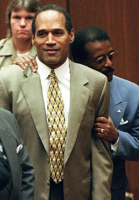Two news specials look back at the O.J. Simpson trial. Photo: Myung J. Chun, AP