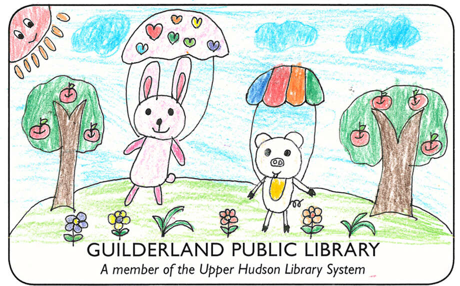 This is the winning design in a Kids Library Card contest for Guilderland Public Library (Provided)
