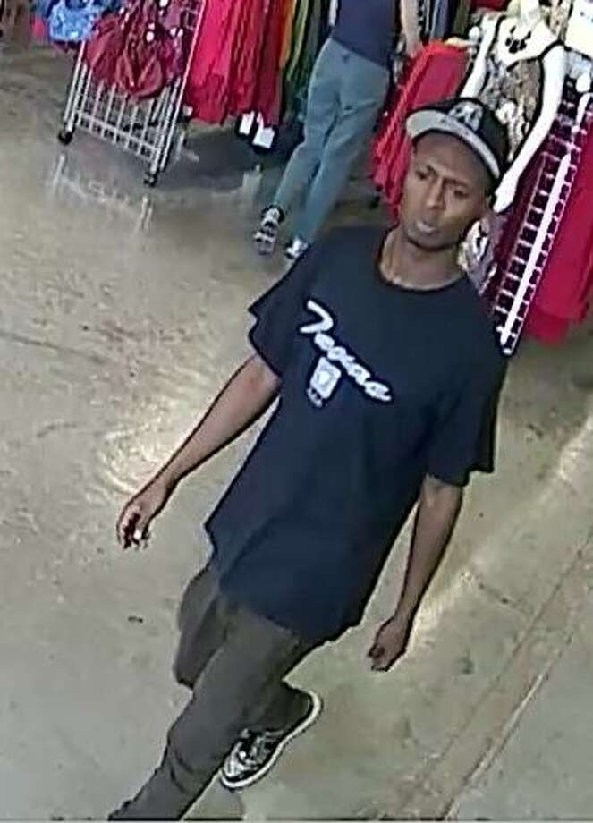Authorities are looking for this suspect in the theft of a woman's necklace outside a Goodwill store on Highway 6 South. Photo: Fort Bend County Crime Stoppers