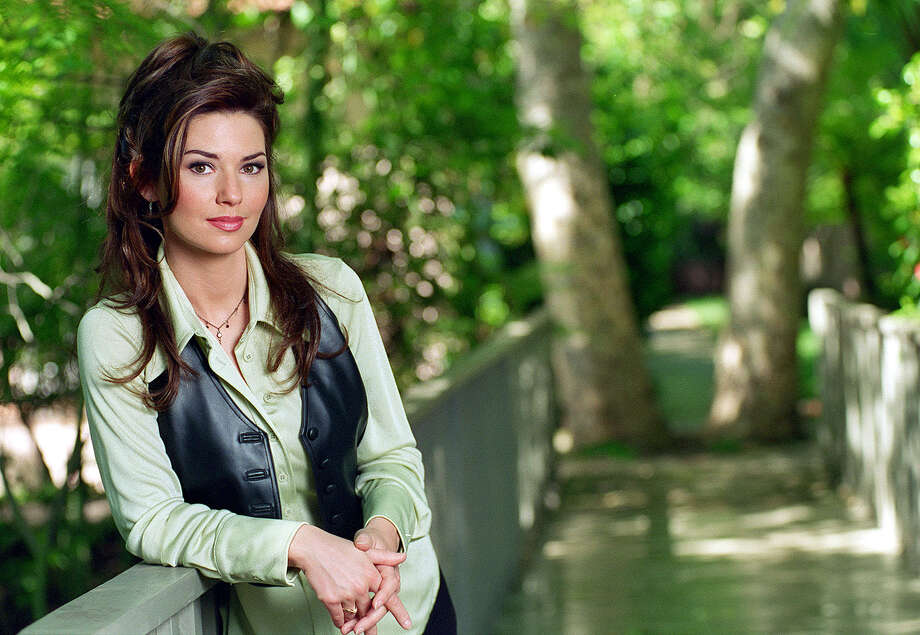 """Born Aug. 28, 1965 in Canada, Shania Twain was one of the world's most popular country and pop musicians in the 1990s and 2000s. Despite two lengthy hiatuses from her career, Twain triumphantly returned to the concert stage on tour this year and is now talking about more touring and recording despite this year's tour being touted as a """"farewell"""" The five-time Grammy Award winner is seen here on April 22, 1996, at the age of 30. Photo: Gary Friedman, LA Times Via Getty Images / 2015 Los Angeles Times"""