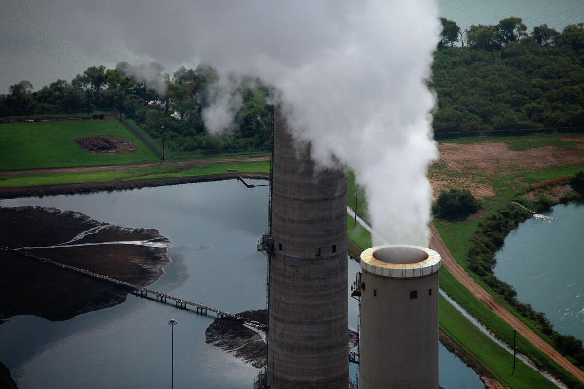 CPS Energy's coal-fired plants were built on Calaveras Lake. .
