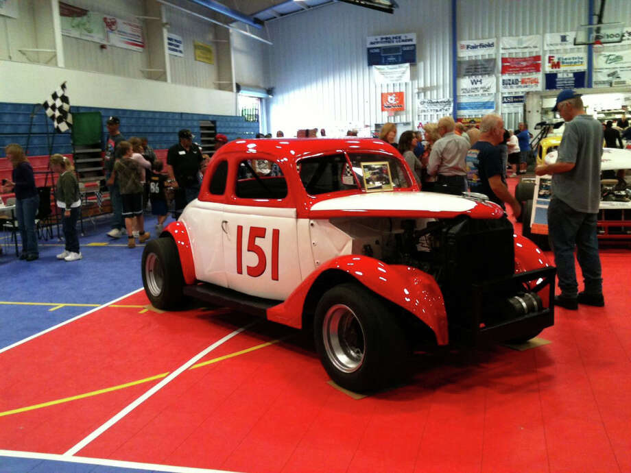 This is the restored racecar No. 151 owned by Chick Stockwell, on display at The Southern New York Racing Association (SNYRA) 11th Annual Reunion at the PAL building in Danbury on Sept. 23. Photo: Contributed Photo / Contributed Photo / The News-Times Contributed