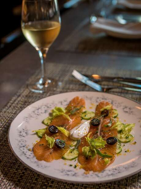 The Herb & Sea Salt Cured Salmon at Zut in Berkeley, Calif., is seen on Thursday, August 27th, 2015. Photo: John Storey, Special To The Chronicle