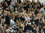 Steele fans celebrate a second quarter touchdown during their season-opening game with Madison at Lehnoff Stadium on Friday, Aug. 28, 2015.  MARVIN PFEIFFER/ mpfeiffer@express-news.net