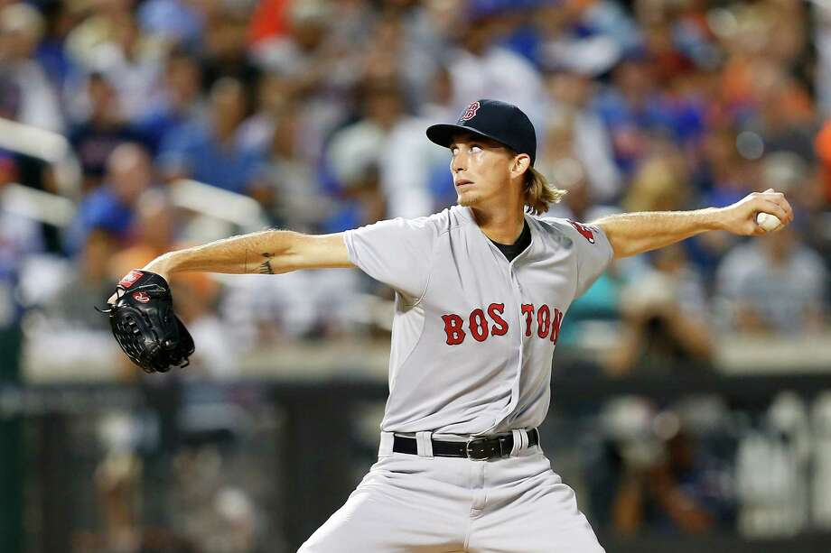 NEW YORK, NY - AUGUST 28:  Henry Owens #60 of the Boston Red Sox pitches in the second inning against the New York Mets on August 28, 2015 at Citi Field in the Flushing neighborhood of the Queens borough of New York City.  (Photo by Nate Shron/Getty Images) ORG XMIT: 538592995 Photo: Nate Shron / 2015 Getty Images