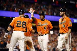 Giants beat Cardinals on Kelby Tomlinson?s walkoff single - Photo