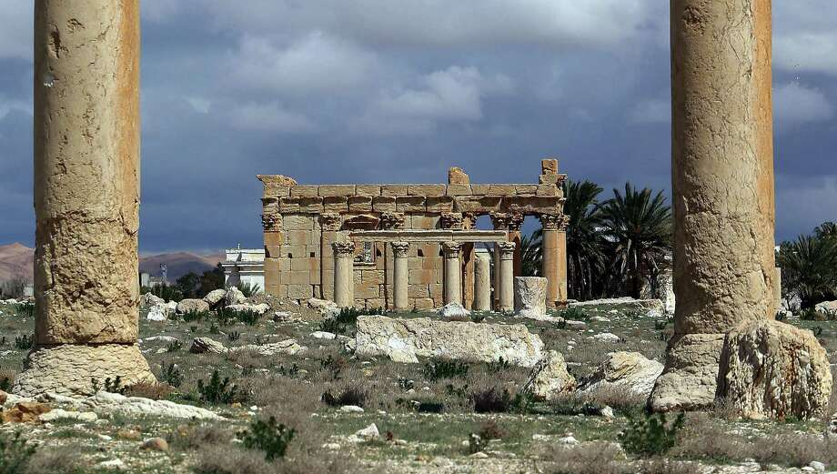 Before Islamic State militants destroyed the Temple of Baal Shamin last week, it was a reminder of the Syrian city of Palmyra's rich multicultural history. UNESCO director general Irina Bokova has called the destruction a war crime. Photo: JOSEPH EID, Staff / AFP
