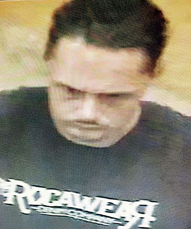 Police are looking for this man who they believe stole a cell phone from a woman shopping at Bob's Store Thursday afternoon. Photo: Contributed Photo / Fairfield Citizen /  Fairfield Citizen contributed