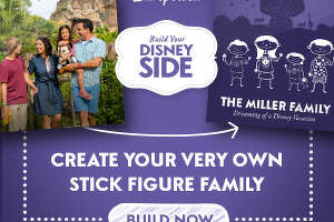 Create and order a free Disney stick figures decal - Photo