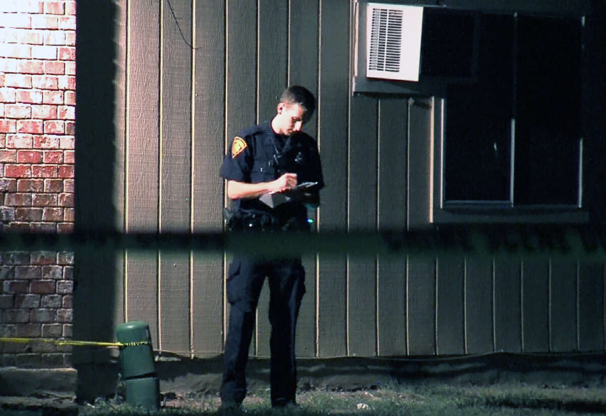 San Antonio Police investigate an officer-involved shooting on the Northwest Side where two veteran officers shot and killed a suspect who lunged at them with a knife. The officers, dispatched to the location for burglary, have been placed on administrative leave.