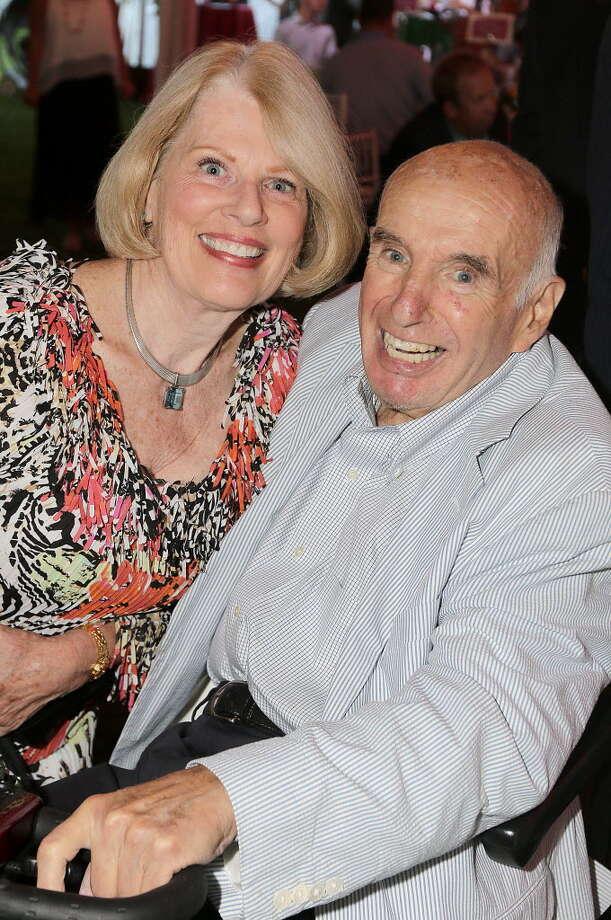 Ed Lewi with his wife, Maureen at Caddyshack '15 the Saratoga Hospital 33rd annual gala at the Saratoga Casino and Raceway on Aug. 5, 2015. (Joe Putrock/Times Union)