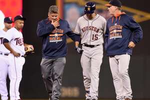Astros place catcher Jason Castro on disabled list - Photo