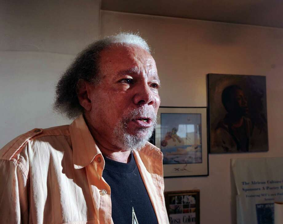 "New Orleans native, Arthur ""Professor Arturo"" Pfister, a poet, author and professor, at his home in Stamford. Photo: Bob Luckey Jr. / Hearst Connecticut Media / Greenwich Time"