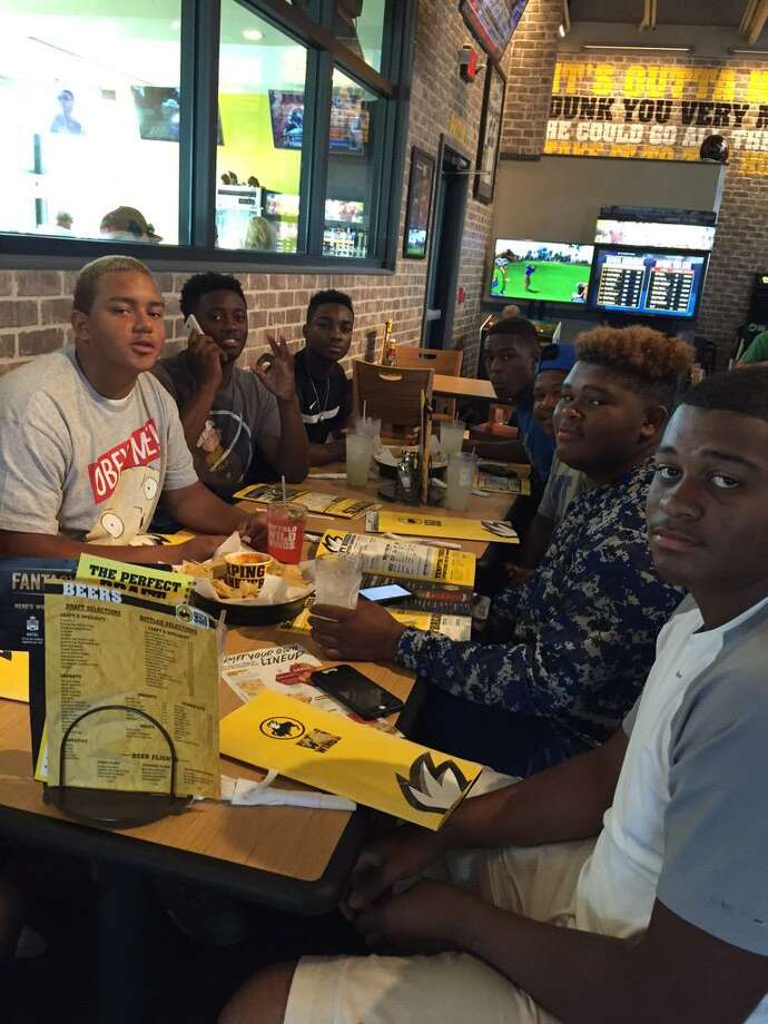 Ozen running back Calvin Tyler stayed true to his word and took members of the offense out to lunch a day after the Panthers defeated Memorial 31-30.