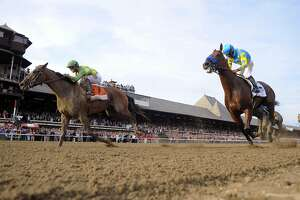 American Pharoah loses at Travers Stakes - Photo