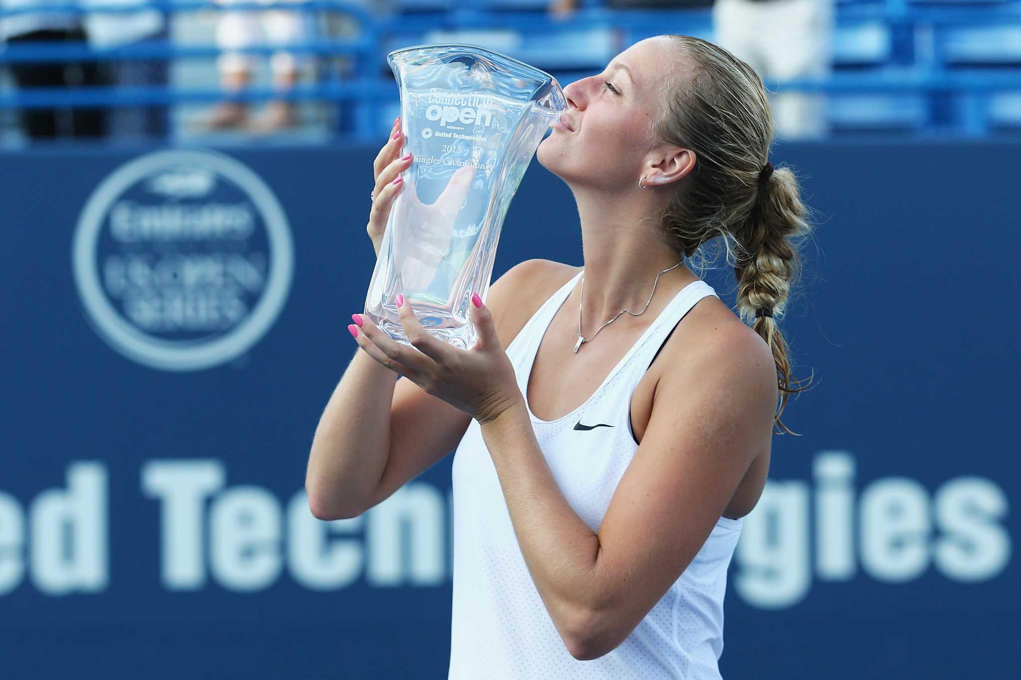Cuarta final consecutiva en New Haven para Petra Kvitova y tercer título