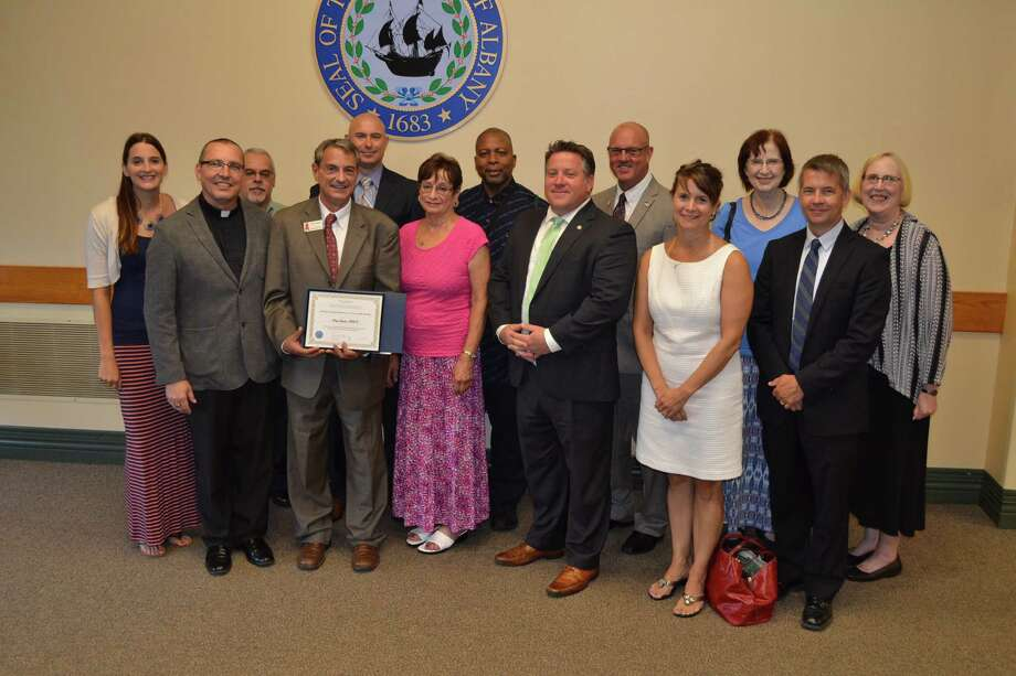 Perry Junjulas is the August recipient of the Albany County Executive's Citizen of the Month. Junjulas has served as the executive director of the Albany Damien Center, where he has worked to provide assistance to those who have been diagnosed with AIDs in the Capital Region. He also sits on the Governors' AIDs Task Force Committee and is part of the Working Positive Coalition. (Submitted photo)