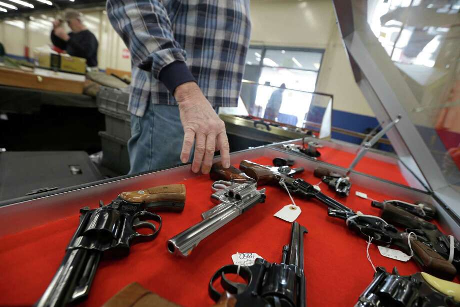 Eighty-five percent of respondents to a Pew Research Center poll in July favor background checks for all gun sales, not just guns sold in stores. And laws meant to stop mentally ill people from buying guns have support from 79 percent, according to the poll. Photo: Danny Johnston /Associated Press / AP