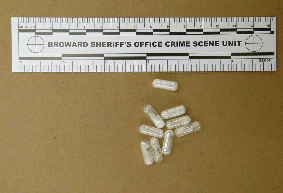 Flakka is the street name for a synthetic drug that can alter alter brain chemistry in such a way that users can't control their thoughts, and it can increase adrenaline. Photo: Courtesy Photo /Broward Sheriff's Office / Broward Sheriff's Office