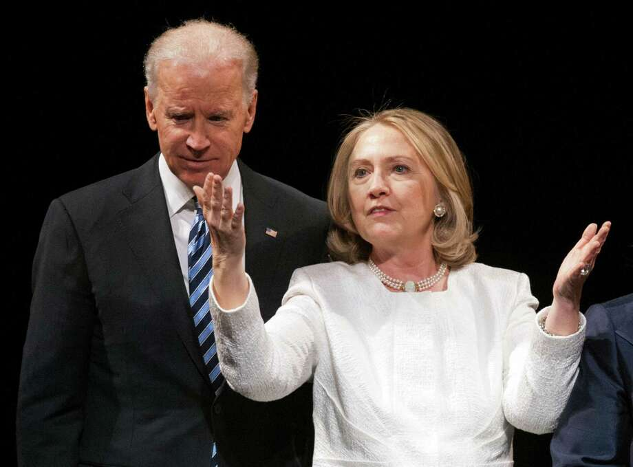 Vice President Joe Biden could go against presidential hopeful Hillary Clinton. Photo: Associated Press /File Photo / FR170079 AP